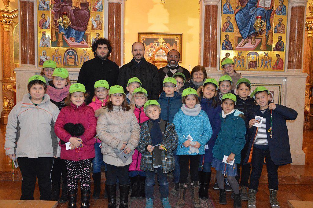 Missziós gyerekek beiktatása 2015.12.09.